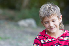 Portrait of young child boy Stock Photography