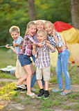 Portrait of young children Royalty Free Stock Photos