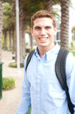 Portrait of a young college student Stock Photography
