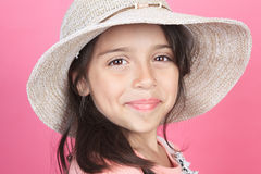 Portrait of a young columbian little girl Stock Photo