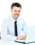 Portrait of young confident business man Royalty Free Stock Photo