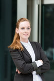 Portrait Of Young Confident Businesswoman Royalty Free Stock Photo