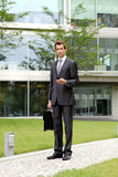 Portrait of young confident caucasian businessman Royalty Free Stock Image