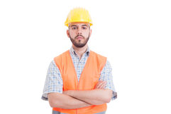 Portrait of a young, confident and successful engineer Royalty Free Stock Photo