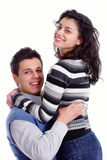 Portrait of a young couple Royalty Free Stock Images