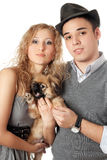 Portrait of young couple Stock Photography