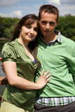 Portrait of young couple Stock Images