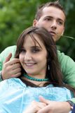 Portrait of young couple Royalty Free Stock Photo