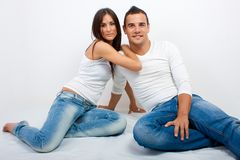Portrait of young Couple Stock Photos