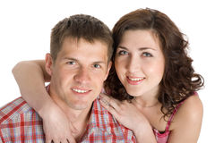 Portrait young couple Stock Image