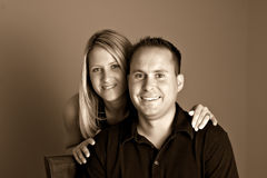 Portrait Young Couple Royalty Free Stock Image