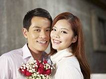 Portrait young couple Stock Images