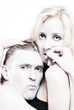 Portrait of Young couple in love Royalty Free Stock Images