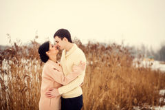 Portrait of young couple Royalty Free Stock Photos