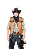 Portrait of young cowboy Stock Photos