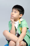 Portrait of young cute boy Stock Photography