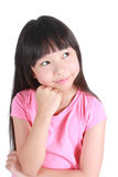 Portrait of young cute girl Royalty Free Stock Photography