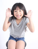 Portrait of young cute girl Stock Photography