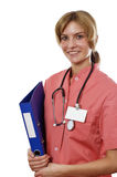 Portrait of the young doctor Royalty Free Stock Photos