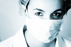Portrait of a young doctor! Royalty Free Stock Photos