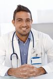 Portrait of young doctor Royalty Free Stock Photos