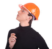 Portrait of a young engineer Stock Photography
