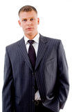 Portrait of young executive Stock Image