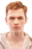 Portrait of young fair-haired man Stock Photography