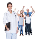 Portrait of young family doctor Stock Photo