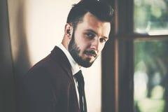 Portrait of fashionable man royalty free stock image