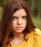 Portrait of young female Royalty Free Stock Images