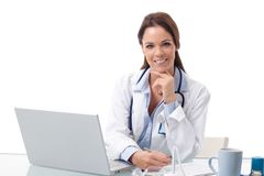 Portrait of young female doctor Royalty Free Stock Photography