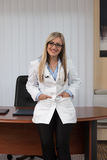 Portrait Of Young Female Doctor Stock Photography