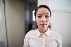 Portrait of young female physiotherapist Stock Image