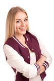 Portrait of a young female student Royalty Free Stock Photos