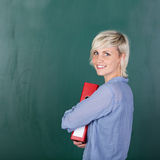Portrait of a young female student Stock Photo