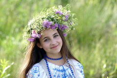 Portrait of a young girl Royalty Free Stock Photo