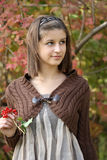 Portrait of the young girl Royalty Free Stock Photos