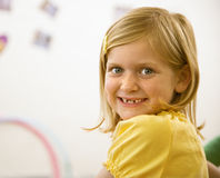 Portrait of Young Girl Royalty Free Stock Photography