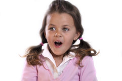 Portrait of a Young Girl Stock Photo