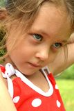 Portrait of young girl. Portrait of very nice young girl Royalty Free Stock Photography