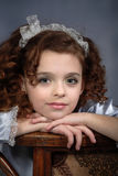 Portrait of the young girl Stock Photography