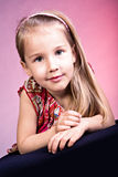 Portrait of a young girl Royalty Free Stock Image