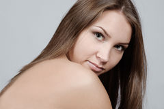 Portrait of young girl. Royalty Free Stock Images