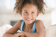 Portrait Of Young Girl Royalty Free Stock Photos