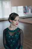 Portrait of a young girl dancer Royalty Free Stock Photo