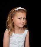 Portrait of a young girl in a dress Royalty Free Stock Photos