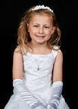 Portrait of a young girl in a dress Royalty Free Stock Image