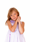 Portrait of young girl. stock images