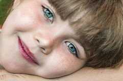 Portrait of young girl Royalty Free Stock Image